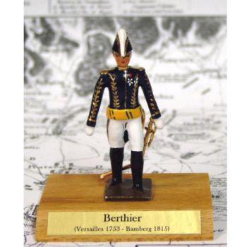 maréchal Berthier sur socle bois