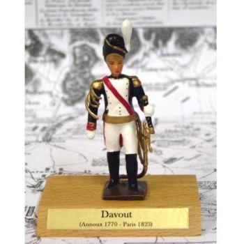 maréchal Davout sur socle bois