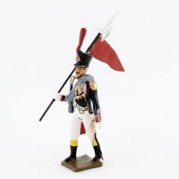 2e porte-aigle des Fusiliers, école de Saint-Cyr (1812)