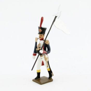 3e porte-aigle des Fusiliers, école de Saint-Cyr (1812)