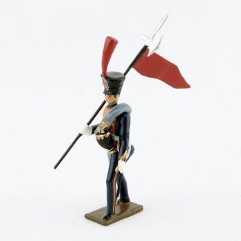 2e porte-aigle des Marins de la Garde (1812)