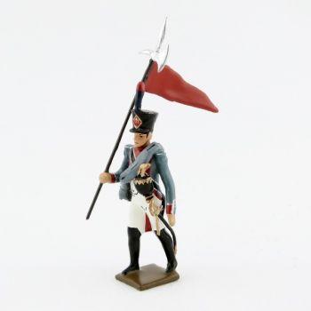 2e porte-aigle de l'infanterie de marine