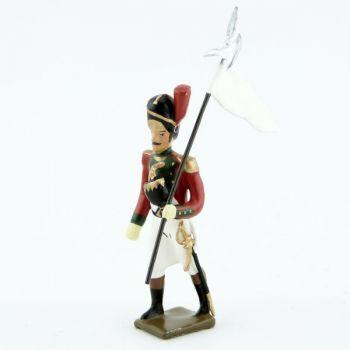 3e porte-aigle du 2e régiment de la Garde de Paris (1803-1809)