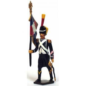 porte-aigle du 9e rgt d'infanterie légère (division oudinot)