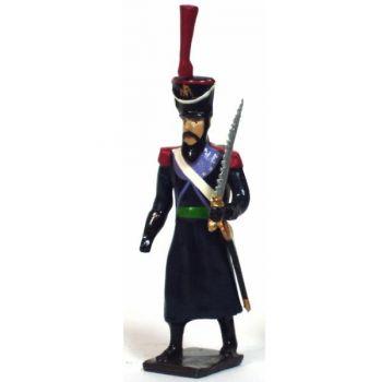 sapeur du 16e rgt d'infanterie légère, avec scie (division oudinot)