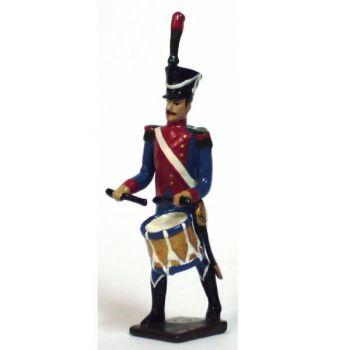 tambour des chasseurs du 27e rgt d'infanterie légère (division oudinot)