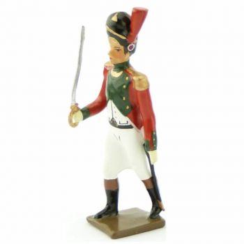 officier du 2e régiment de la Garde de Paris (1803-1809)