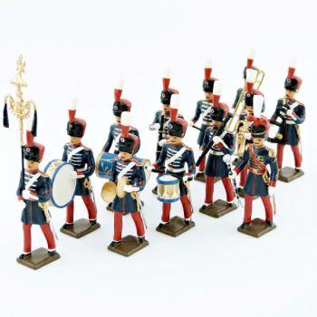 musique des Grenadiers à pied de la Garde Impériale (1860-1870), ens. de 12 figurines