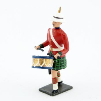 tambour des troupes coloniales écossaises (Durbar)