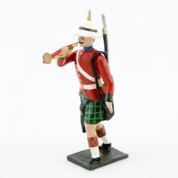 clairon des 'troupes coloniales écossaises (Durbar)