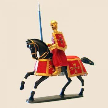 Raymond de Toulouse à cheval