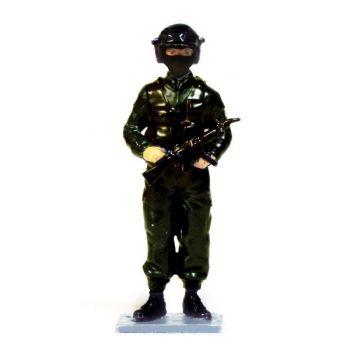 Policier du RAID en casque