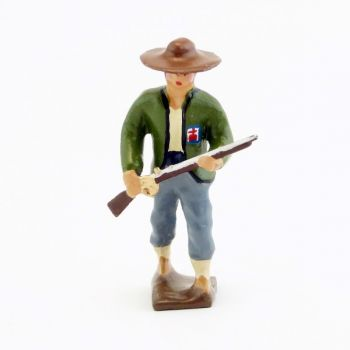Vendéen (ou Chouan) avec fusil entre les mains