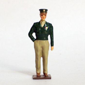Général Eisenhower (1890 -1969), commandant en chef des forces alliées en 1944