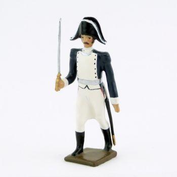 officier du 18e régiment de ligne prussien (1806)