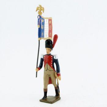 drapeau des gendarmes d'élite à pied (1804), pantalon ventre de biche