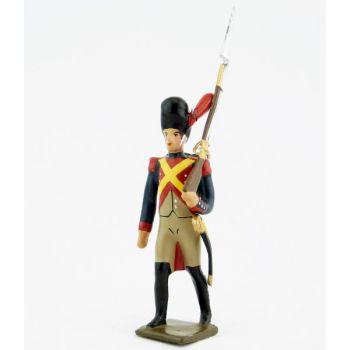 fantassin des gendarmes d'élite à pied (1804), pantalon ventre de biche