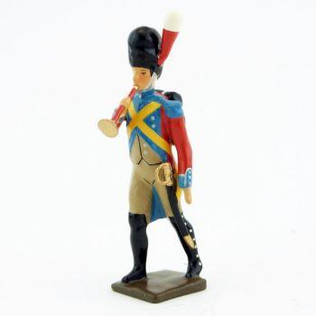 clairon des gendarmes d'élite à pied (1804), pantalon ventre de biche