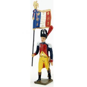 drapeau des gendarmes d'élite à pied (1804), pantalon jaune