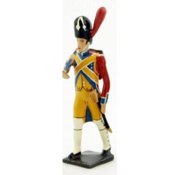 clairon des gendarmes d'élite à pied (1804), pantalon jaune