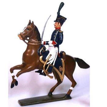officier à cheval des tirailleurs-chasseurs