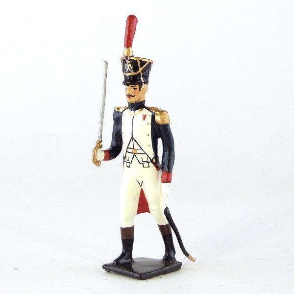 officier des fusiliers-grenadiers (1809-1813)