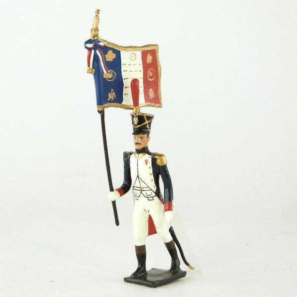 drapeau des fusiliers-grenadiers (1809-1813)