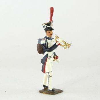 clairon (d'ordonnance) des fusiliers-grenadiers (1809-1813)