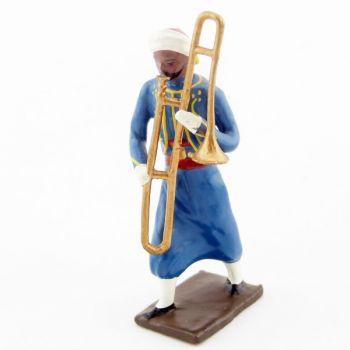 trombone à coulisse de la musique des turcos