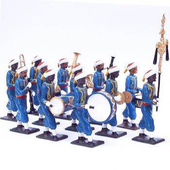 musique des Turcos, ensemble de 12 musiciens