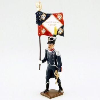 drapeau du 17e Rgt d'Infanterie légère
