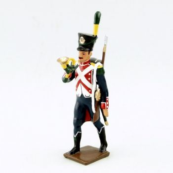 Clairon du 17e Rgt d'Infanterie légère