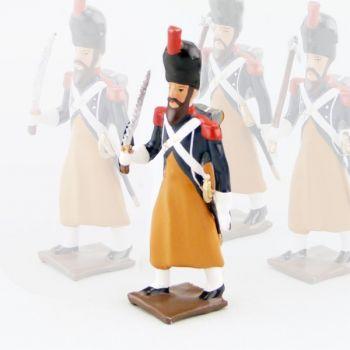 Sapeur avec Scie du 17e Rgt d'Infanterie légère