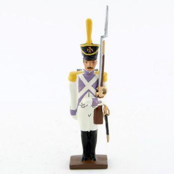 fantassin des voltigeurs du 33ème de ligne (1806) au fixe