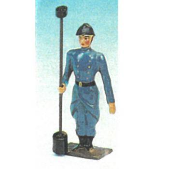 soldat au fixe, avec écouvillon