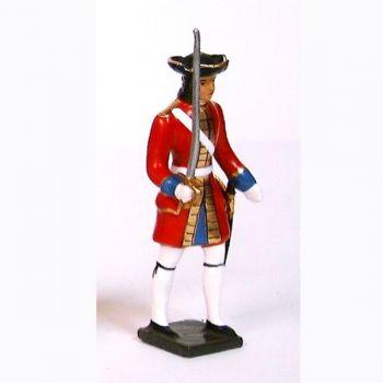 officier des grenadiers de la garde suisse louis xiv (1670)