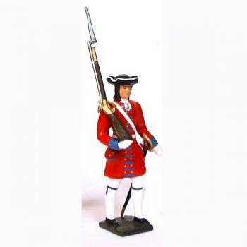 grenadier de la garde suisse de louis xiv avec fusil