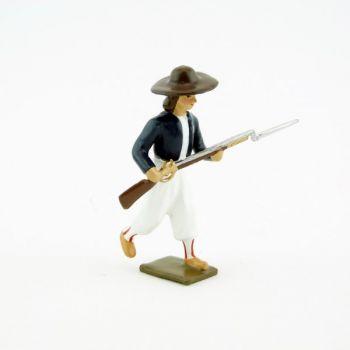 soldat de l'Armée catholique et royale de Vendée à l'assaut