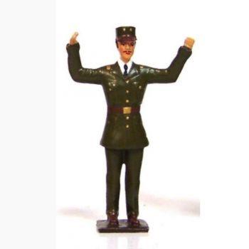 Général de Gaulle bras écartés