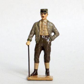 Général Leclerc (1902-1947), héros de la Seconde Guerre Mondiale