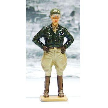 Général Patton (1885-1945), conduisit la IIIe armée américaine