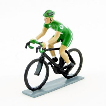 Cycliste (contemporain), maillot vert