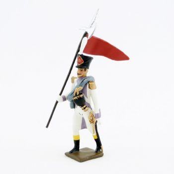 2e porte-aigle des voltigeurs du 33ème de ligne (1806)