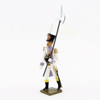 3e porte-aigle des voltigeurs du 33ème de ligne (1806)