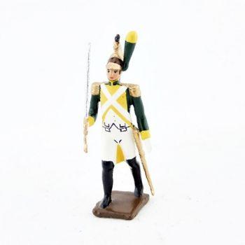 officier des dragons de la garde (dragons jaunes) (1812)