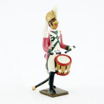 tambour du 17ème rgt de dragons (dragons roses - 1812)