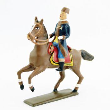 baron Percy, chirurgien inspecteur général, à cheval