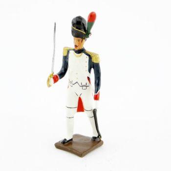 officier des chasseurs à pied de la Garde (1806)