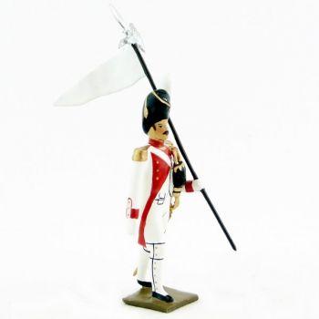 3ème Porte-aigle du 3e rgt de grenadiers de la garde (ex-hollandais) (1812)