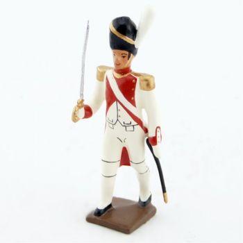 officier du 3e rgt de grenadiers de la garde (ex-hollandais) (1812)
